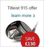 Titleist 915 metal woods - great new price