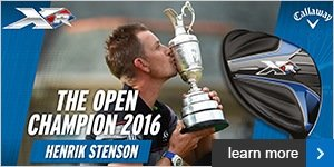 Callaway - Henrik Stenson The Open winner
